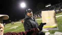 Wayne Hills football coach Chris Olsen