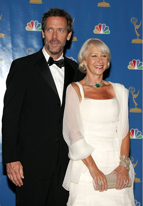 Hugh Laurie Helen Mirren 2006