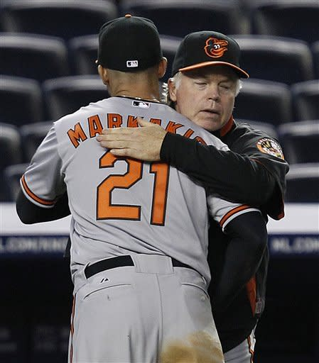 Showalter gets 1,000th win, Matusz ends skid