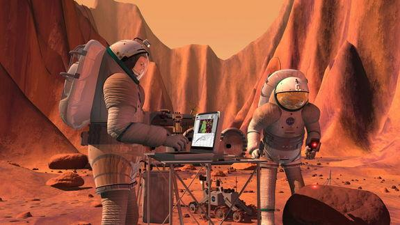 Putting Astronauts on Mars: NASA Lays Out Three-Phase Plan