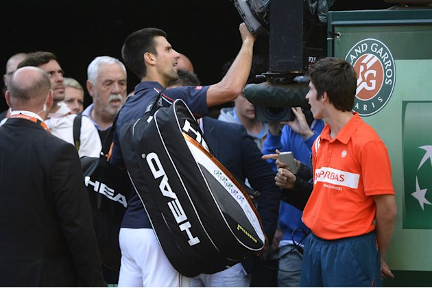 Serbia's Novak Djokovic Signs AFP/Getty Images