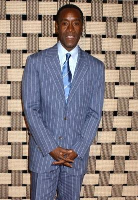 Don Cheadle at the Beverly Hills premiere of United Artists' Hotel Rwanda