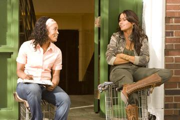 Angela Bassett and Sofia Vergara in Lionsgate Films' Tyler Perry's Meet the Browns