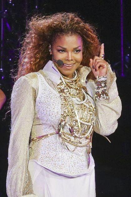 Janet Jackson kicks off the 'Unbreakable' world tour in Vancouver on August 31, 2015 -- Pacific Coast News
