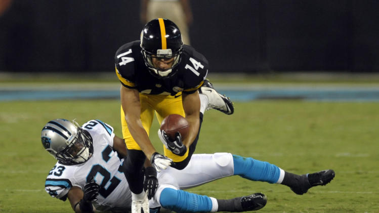 NFL: Preseason-Pittsburgh Steelers at Carolina Panthers