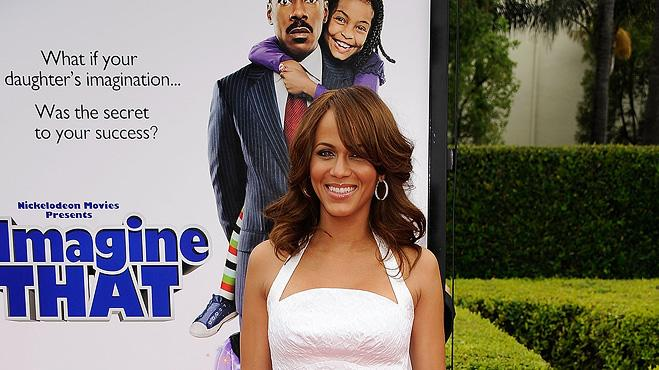 Imagine That LA Premiere 2009 Nicole Ari Parker