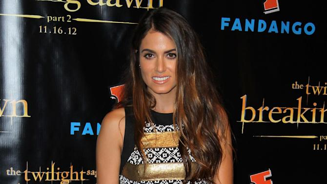 """Actress Nikki Reed arrives at Summit Entertainment's """"The Twilight Saga: Breaking Dawn - Part 2"""" VIP Comic-Con celebration, Wednesday, July 11, 2012, in San Diego. (Photo by Matt Sayles/Invision/AP)"""