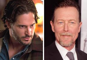 Joe Manganiello, Robert Patrick | Photo Credits: John P. Johnson/HBO, Jamie McCarthy/Getty Images