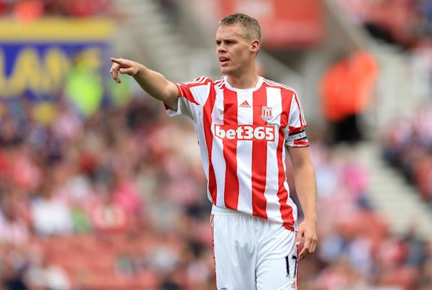 Stoke are hopeful of Ryan Shawcross reporting for club training despite England's postponed match