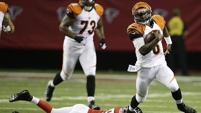 Bernard has TD run as Bengals beat Falcons 34-10