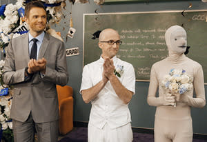 Joel McHale, Jim Rash | Photo Credits: Vivian Zink/NBC