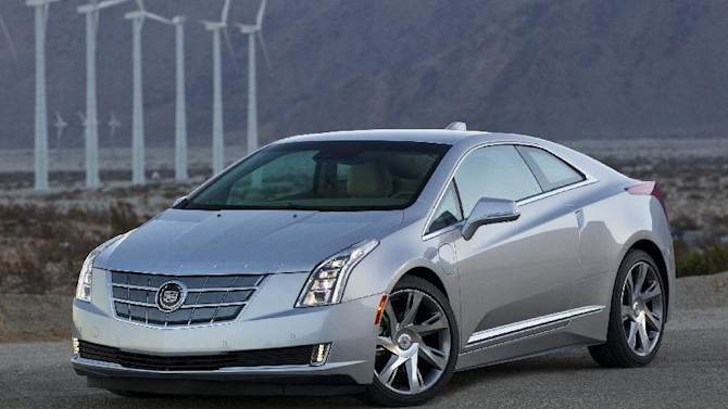 This undated photo made available by Cadillac shows the 2014 Cadillac ELR. (AP Photo/Cadillac, Richard Prince)