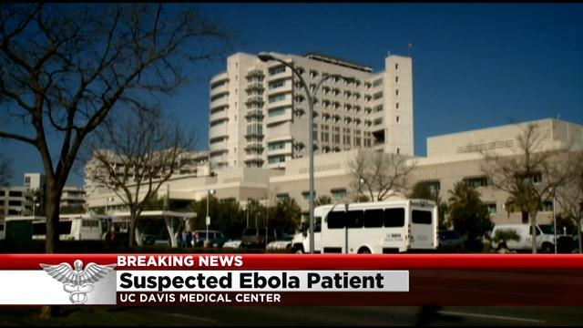 Suspected Ebola patient admitted to California hospital