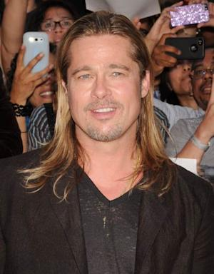 Brad Pitt attends the 'World War Z' New York Premiere on June 17, 2013 in New York City -- Getty Images