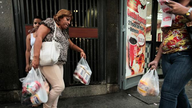 Venezuelan inflation rate tops 49 percent