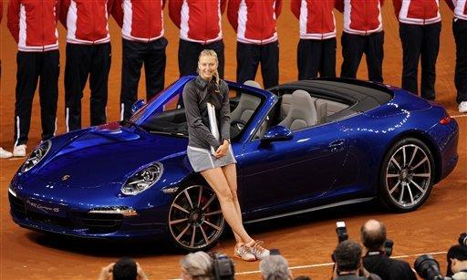Sharapova beats Li Na to win Porsche GP again