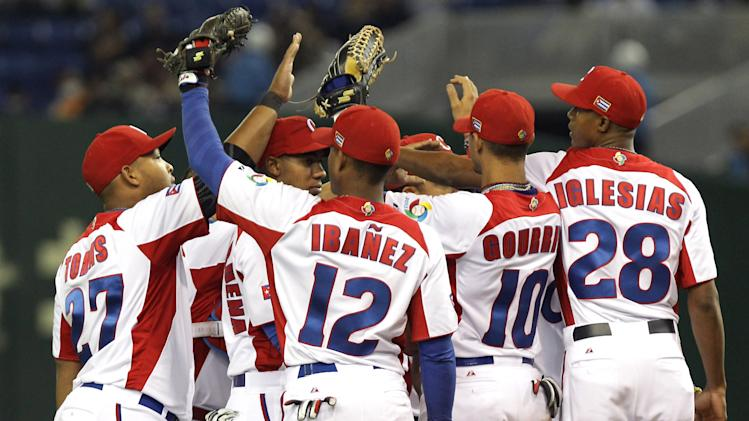 Chinese Taipei v Cuba - World Baseball Classic Second Round Pool 1
