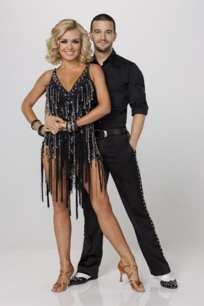 'Dancing with the Stars' - Katherine Jenkins and Mark Ballas  -- ABC