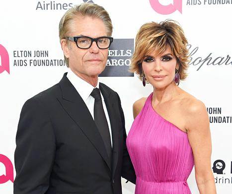 Lisa Rinna: My Husband Harry Hamlin Said He'd Divorce Me If I Joined Real Housewives of Beverly Hills