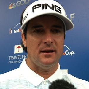 Bubba Watson interview after Round 3 of Travelers