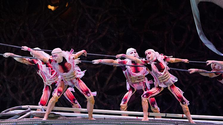 """Cirque Du Soliel: Worlds Apart 3D"" Stills"