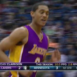 Clarkson On A Breakway Dunk