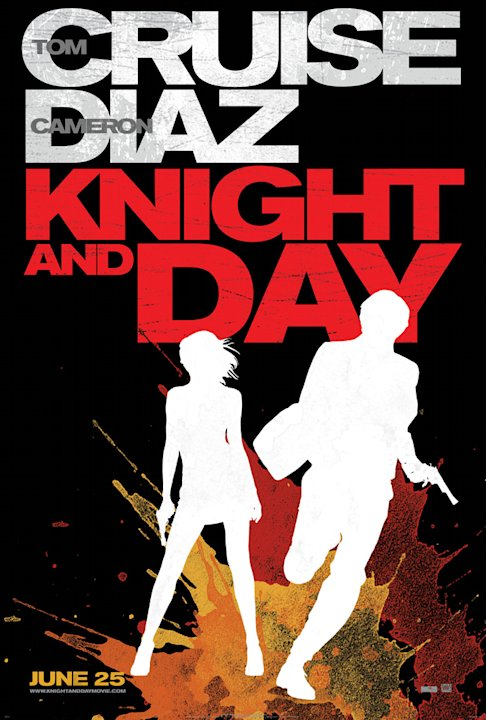 Knight and Day 20th Century Fox 2010 Poster