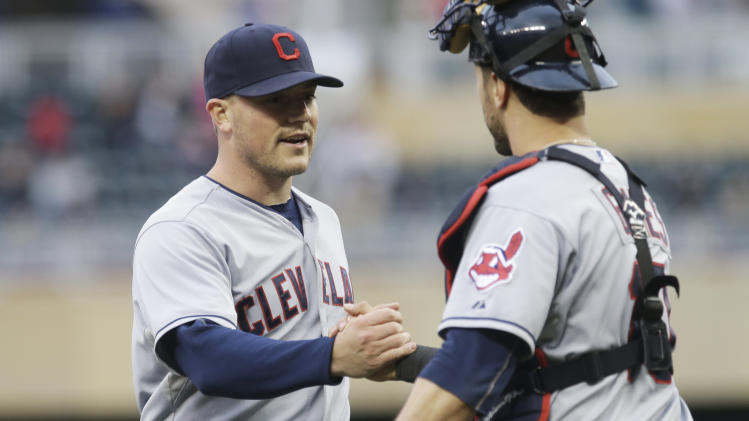 Indians open AL wild-card lead over Tampa, Texas