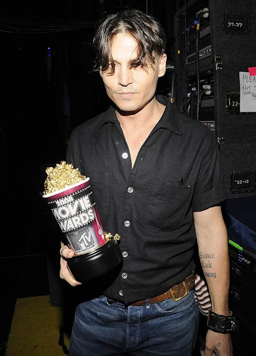 Depp Johnny MTV Movie Aw