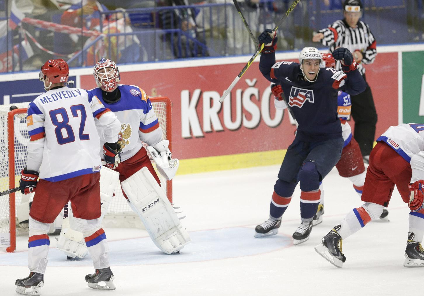 Canada, US, earn 3rd straight wins at ice hockey worlds