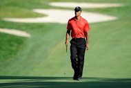 Tiger Woods, pictured on July 1, fresh off his 74th career victory last week, brings his skills for the first time to the former home of the only golfer to have won more titles, Sam Snead