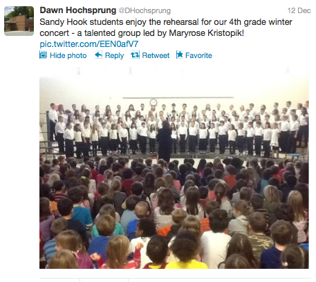 Newtown School Shootings: Slain Principal Had Tweeted Student Concert