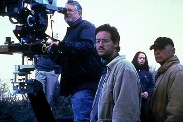 Director Matthew Ryan Hoge on the set of Paramount Classics' The United States of Leland