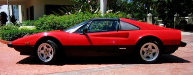 1983 Ferrari 308 (Photo courtesy of Kessler Autogroup, North Miami Beach/via Yahoo! Autos)