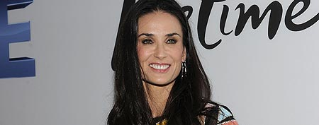 Actress Demi Moore attends the screening of 'Five' at Skylight SOHO on September 26, 2011 in New York City. (Jason Kempin/Getty Images)