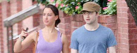 Rosie Coker and Daniel Radcliffe (INF)