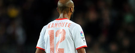 Frederic Kanoute of Sevilla FC.  (Photo by Jasper Juinen/Getty Images)