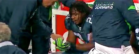 Seattle's Marshawn Lynch (Screen grab courtesy of NFL.com)
