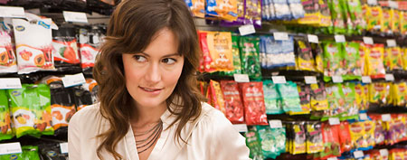 Woman in store (Thinkstock)