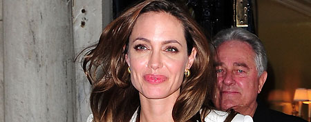 Angelina Jolie seen on the streets of Manhattan on December 5, 2011 in New York City. (James Devaney/WireImage)