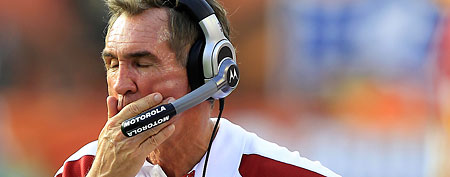 Washington Redskins coach Mike Shanahan. (AP Photo/Wilfredo Lee)