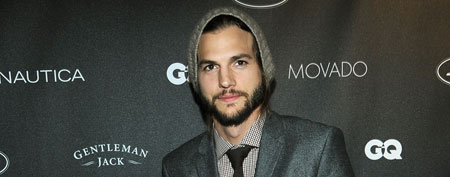 Ashton Kutcher attends GQ's Gentlemen's Ball on October 26, 2011 in New York City (Larry Busacca/Getty Images for GQ).