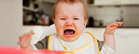 Crying child. (Corbis)