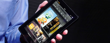 Kindle Fire. (AP Photo/Mark Lennihan, File)