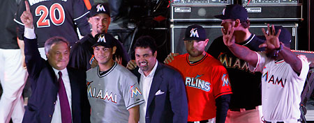 Miami Marlins (AP photo)