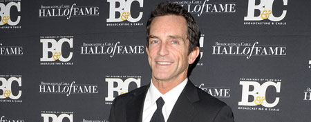 Jeff Probst attends the 21st Annual Broadcasting & Cable Hall Of Fame Awards on October 26, 2011 in New York City (Ilya S. Savenok/FilmMagic).