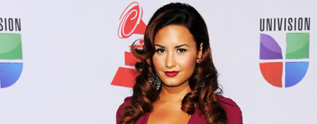 Demi Lovato at the Latin GRAMMY Awards on November 10, 2011 in Las Vegas (Denise Truscello/WireImage).