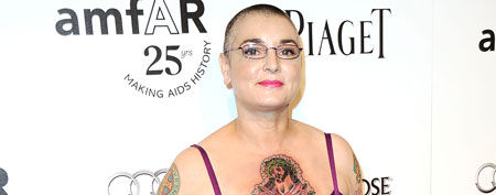 Sinead O'Connor attends amfAR's Inspiration Gala on October 27, 2011 in Los Angeles (Frazer Harrison/Getty Images).