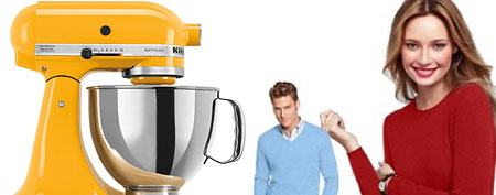 (L-R): KitchenAix Mixer (Web), People in sweaters (Cashmere Sweaters)