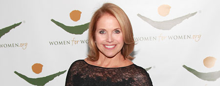 NEW YORK, NY - NOVEMBER 17: Journalist Katie Couric attends the 2011 Women For Women International Gala at The Museum of Modern Art on November 17, 2011 in New York City. (Photo by Charles Eshelman/FilmMagic)